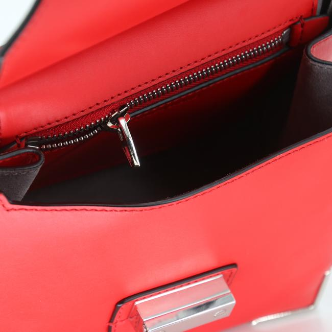 Alexander Wang Crossbody Box Padded Small Marion Red Silver Tone Cowhide Leather Shoulder Bag Alexander Wang Crossbody Box Padded Small Marion Red Silver Tone Cowhide Leather Shoulder Bag Image 11