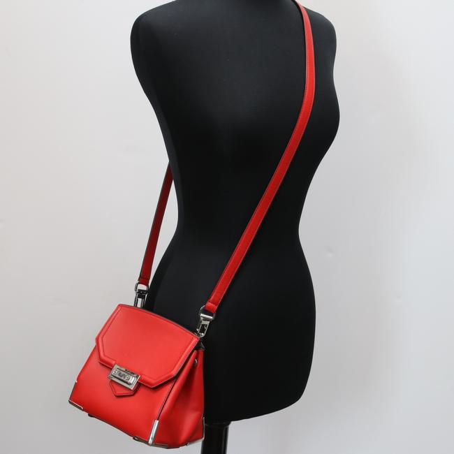 Alexander Wang Crossbody Box Padded Small Marion Red Silver Tone Cowhide Leather Shoulder Bag Alexander Wang Crossbody Box Padded Small Marion Red Silver Tone Cowhide Leather Shoulder Bag Image 12
