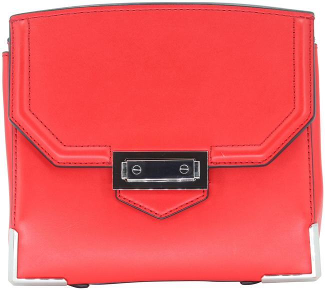 Alexander Wang Crossbody Box Padded Small Marion Red Silver Tone Cowhide Leather Shoulder Bag Alexander Wang Crossbody Box Padded Small Marion Red Silver Tone Cowhide Leather Shoulder Bag Image 3