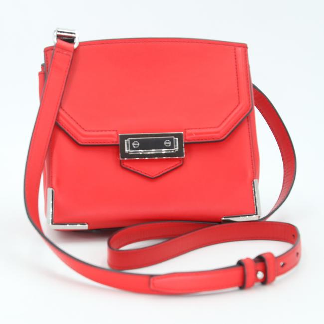 Alexander Wang Crossbody Box Padded Small Marion Red Silver Tone Cowhide Leather Shoulder Bag Alexander Wang Crossbody Box Padded Small Marion Red Silver Tone Cowhide Leather Shoulder Bag Image 4
