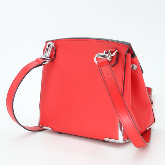 Alexander Wang Crossbody Box Padded Small Marion Red Silver Tone Cowhide Leather Shoulder Bag Alexander Wang Crossbody Box Padded Small Marion Red Silver Tone Cowhide Leather Shoulder Bag Image 6