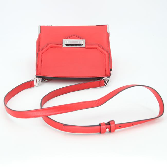 Alexander Wang Crossbody Box Padded Small Marion Red Silver Tone Cowhide Leather Shoulder Bag Alexander Wang Crossbody Box Padded Small Marion Red Silver Tone Cowhide Leather Shoulder Bag Image 7