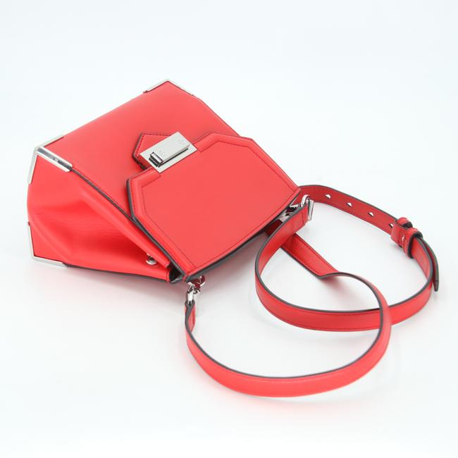 Alexander Wang Crossbody Box Padded Small Marion Red Silver Tone Cowhide Leather Shoulder Bag Alexander Wang Crossbody Box Padded Small Marion Red Silver Tone Cowhide Leather Shoulder Bag Image 8