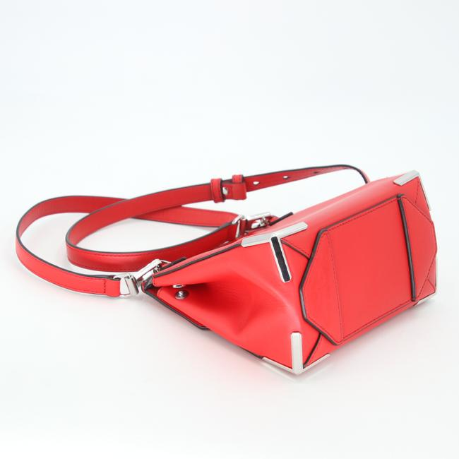 Alexander Wang Crossbody Box Padded Small Marion Red Silver Tone Cowhide Leather Shoulder Bag Alexander Wang Crossbody Box Padded Small Marion Red Silver Tone Cowhide Leather Shoulder Bag Image 9