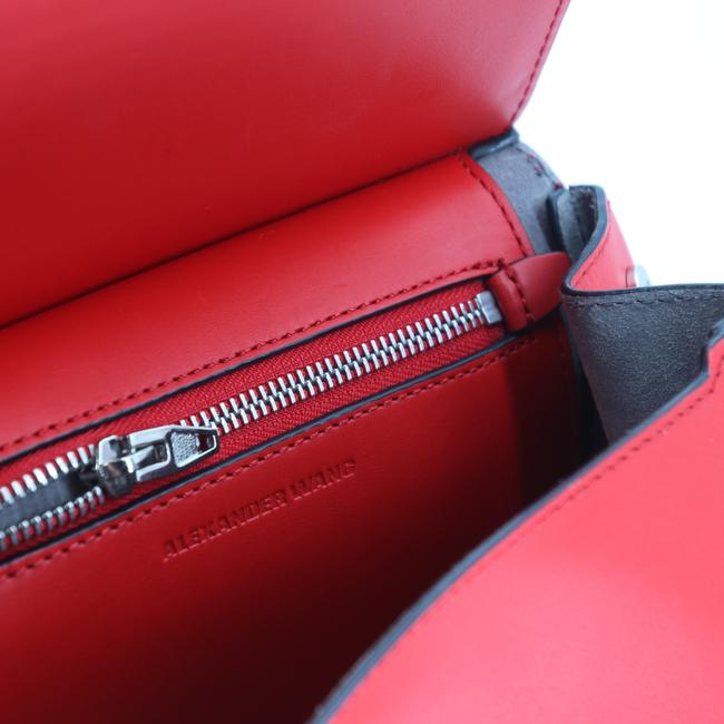 Alexander Wang Crossbody Box Padded Small Marion Red Silver Tone Cowhide Leather Shoulder Bag Alexander Wang Crossbody Box Padded Small Marion Red Silver Tone Cowhide Leather Shoulder Bag Image 10