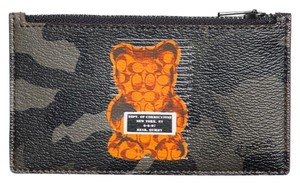 Coach Authentic Coach Limited Edition Vandal Gummy Zippy Pouch Wallet