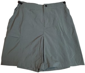 REI Snap Fly Belted GREEN Shorts