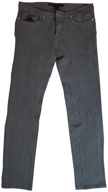 Item - Gray Ankle Rayon Blend Pants Size 6 (S, 28)