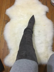 Saint Laurent grey Boots