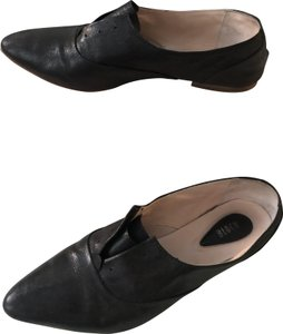 Bloch Loafer Oxford Leather Black Flats