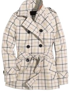 Coach 1941 Short Trench Trench Plaid Trench Fall Trench Multi Jacket