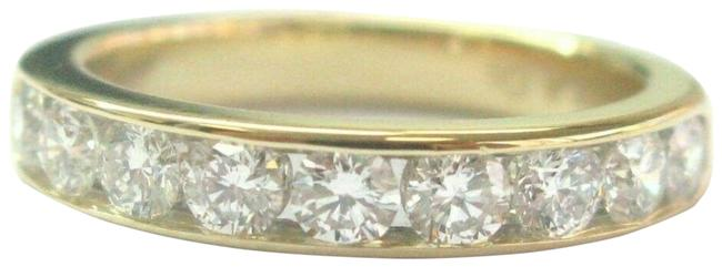 Item - Yellow Gold Co Diamond Channel Set Band .81ct 3.9mm Siz Ring