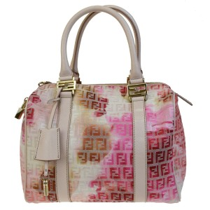 Fendi Made In Italy Tote in Pink