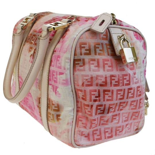 Fendi Made In Italy Tote in Pink Image 3