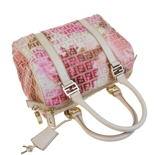 Fendi Made In Italy Tote in Pink Image 4