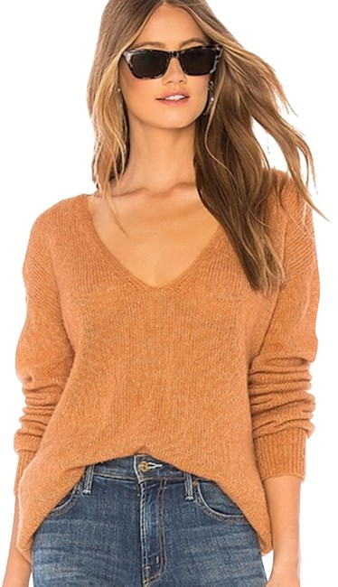 Preload https://img-static.tradesy.com/item/26058625/free-people-gossamer-v-neck-sweater-0-1-650-650.jpg