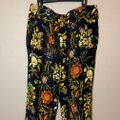 Desigual Tapered Pockets Floral Trouser Pants Multicolor Image 3