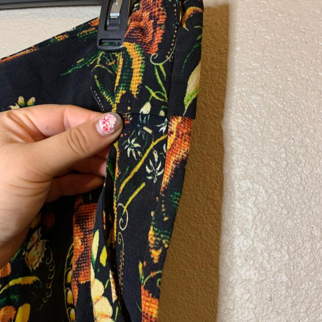 Desigual Tapered Pockets Floral Trouser Pants Multicolor Image 4