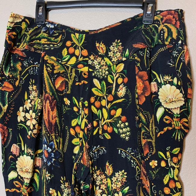 Desigual Tapered Pockets Floral Trouser Pants Multicolor Image 8
