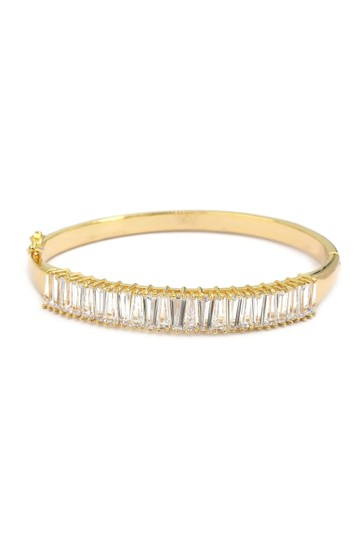 Ocean Fashion Noble gold crystal row bracelet Image 0