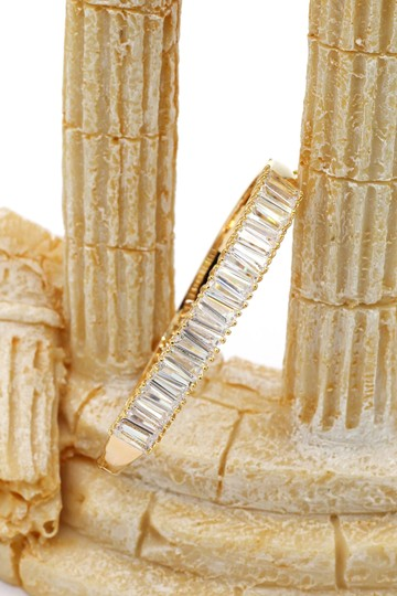 Ocean Fashion Noble gold crystal row bracelet Image 3