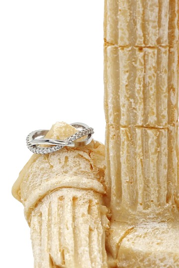 Ocean Fashion Cross row with ring Image 3