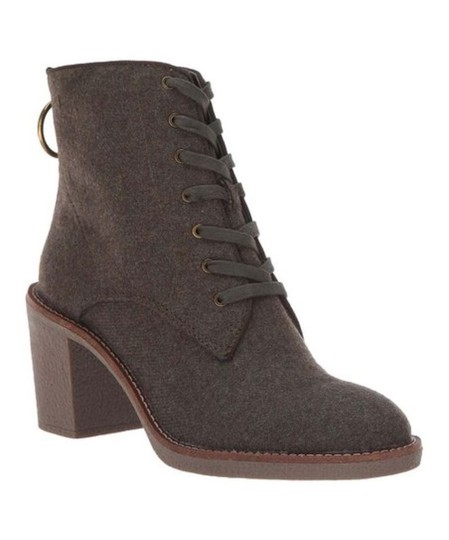 Lucky Brand khaki flannel Boots Image 3