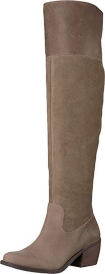 Lucky Brand Brindle Leather Boots Image 3