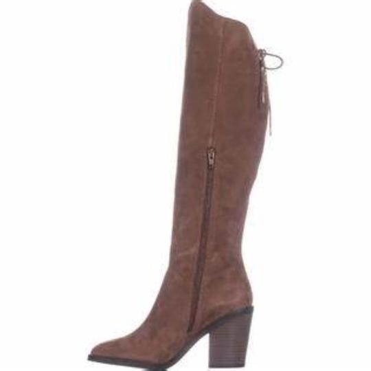 Lucky Brand Tapenade Leather Boots Image 1