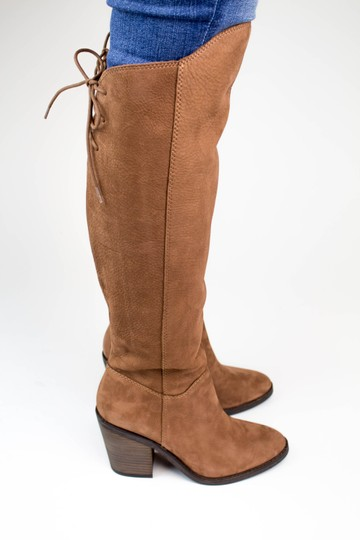 Lucky Brand Tapenade Leather Boots Image 7