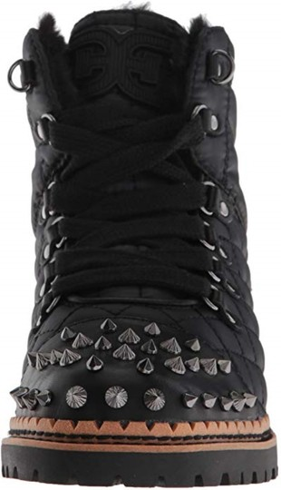Sam Edelman Black High Shine Nylon Boots Image 2