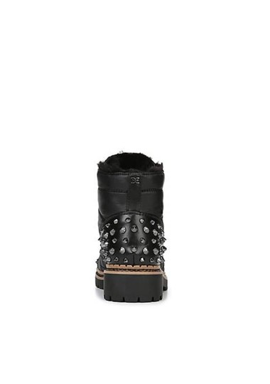 Sam Edelman Black High Shine Nylon Boots Image 3