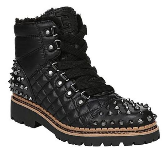 Sam Edelman Black High Shine Nylon Boots Image 4