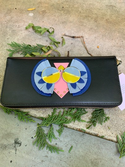 Kate Spade Authentic Kate Spade Italian leather Peacock zip wallet Image 3