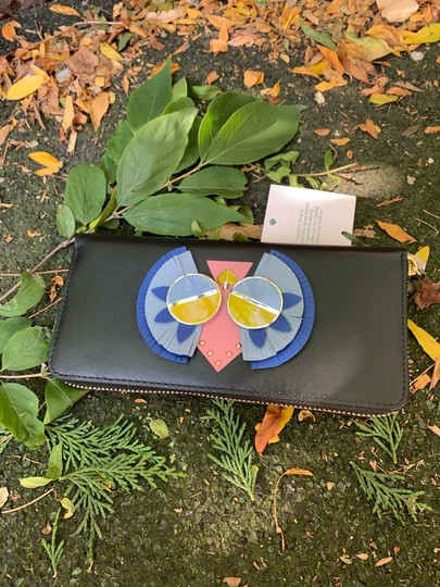 Kate Spade Authentic Kate Spade Italian leather Peacock zip wallet Image 4