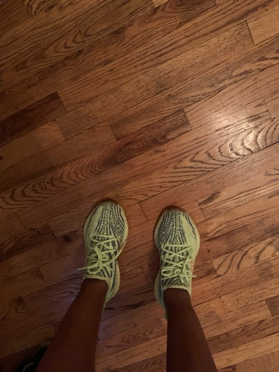 YEEZY Yellow and Blue Athletic Image 3