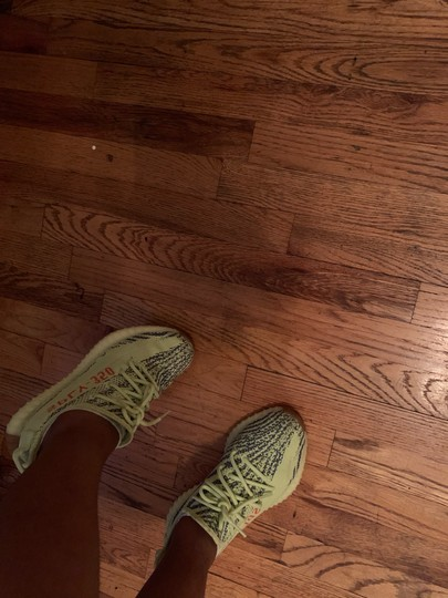 YEEZY Yellow and Blue Athletic Image 4