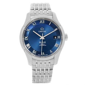 Omega Omega DeVille Co-Axial 41mm Blue Dial Watch 431.10.41.21.03.001 Unworn
