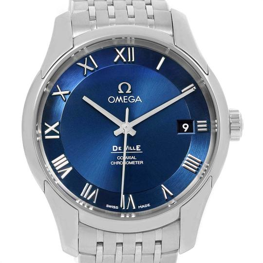 Omega Omega DeVille Co-Axial 41mm Blue Dial Watch 431.10.41.21.03.001 Unworn Image 1