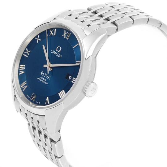 Omega Omega DeVille Co-Axial 41mm Blue Dial Watch 431.10.41.21.03.001 Unworn Image 3