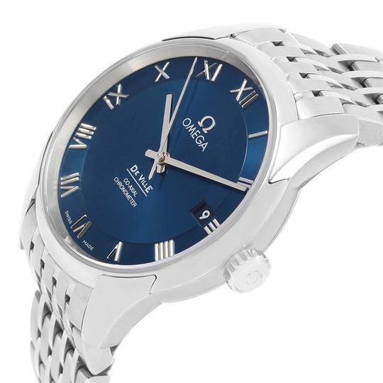Omega Omega DeVille Co-Axial 41mm Blue Dial Watch 431.10.41.21.03.001 Unworn Image 4