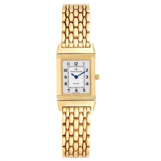 Jaeger-LeCoultre Jaeger-LeCoultre Reverso Silver Dial Yellow Gold Ladies Watch Q2611110 Image 1