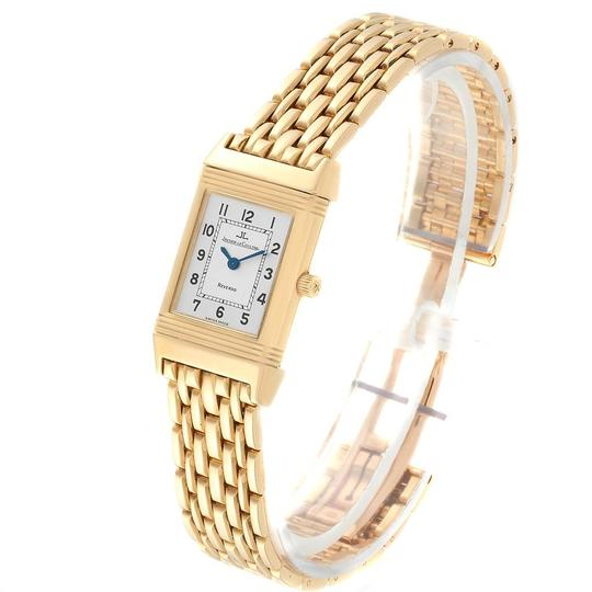 Jaeger-LeCoultre Jaeger-LeCoultre Reverso Silver Dial Yellow Gold Ladies Watch Q2611110 Image 3