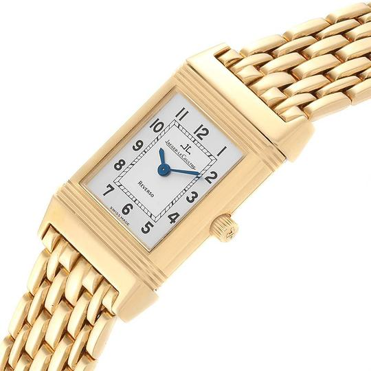 Jaeger-LeCoultre Jaeger-LeCoultre Reverso Silver Dial Yellow Gold Ladies Watch Q2611110 Image 4