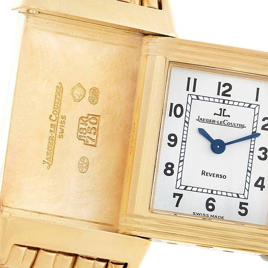 Jaeger-LeCoultre Jaeger-LeCoultre Reverso Silver Dial Yellow Gold Ladies Watch Q2611110 Image 6
