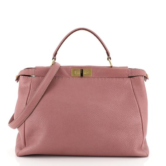 Preload https://img-static.tradesy.com/item/26059243/fendi-selleria-peekaboo-soft-large-pink-leather-satchel-0-0-540-540.jpg
