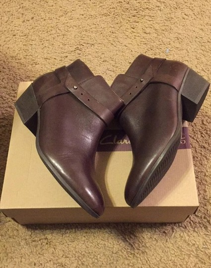 Clarks Brown Boots Image 1