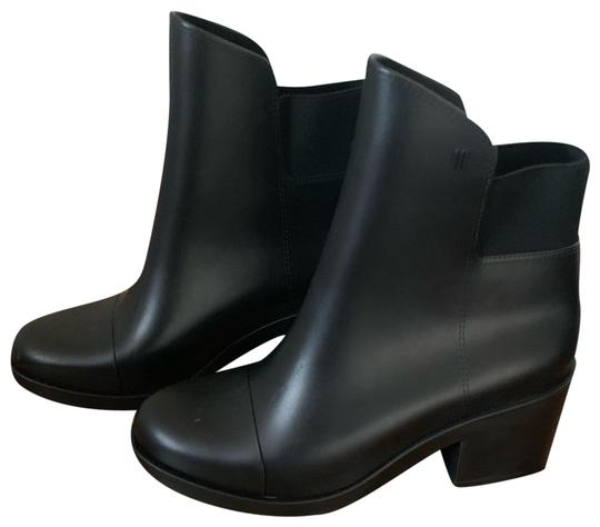 Preload https://img-static.tradesy.com/item/26059298/melissa-black-rubber-ankle-bootsbooties-size-us-9-regular-m-b-0-1-540-540.jpg