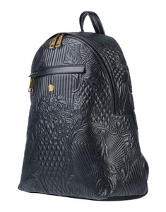 VERSACE Designer Italian Leather Backpack