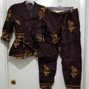 Other 3 pieces African Prints Pant Top Short Image 0